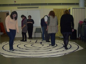 Our Labyrinth, can you spot Fi's Dad.....?